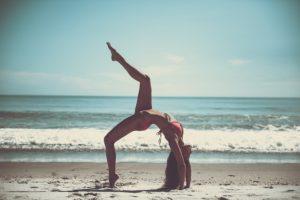 yoga + balansplatta = <3
